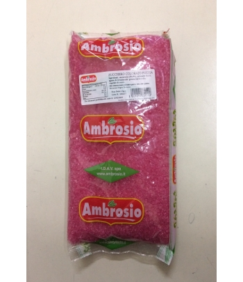 Cristalli di zucchero fuxia kg.1 ambrosio