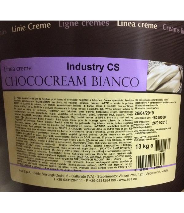 Chococream bianco industry cs kg.13 irca