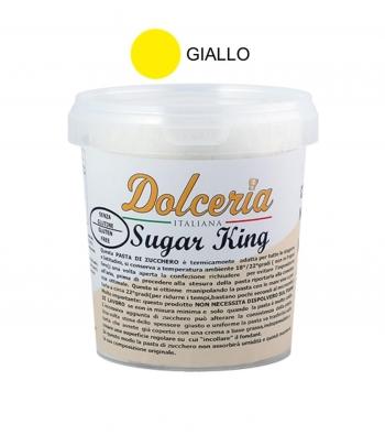 pasta di zucchero giallo sugar king kg.1 dolceria