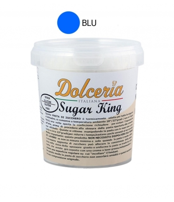 pasta di zucchero blu sugar king kg.1 dolceria