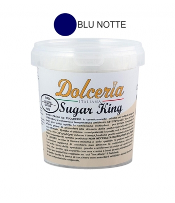 pasta di zucchero blu notte sugar king kg.1 dolceria