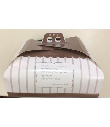 scatola porta torte cm.40x40
