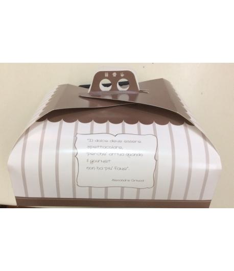 scatola porta torte cm.38x38