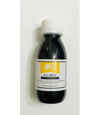 Colorante alimentare NERO per stampante ink jet ml.100 WFD