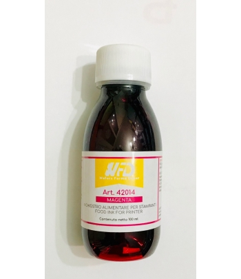 Colorante alimentare MAGENTA per stampante ink jet ml.100 WFD