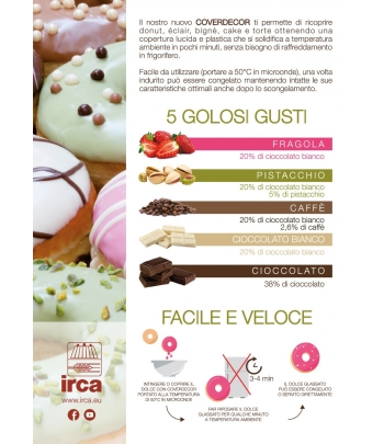 coverdecor fragola kg.3 (glutenfree) irca