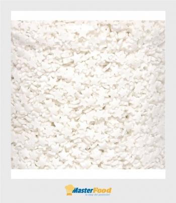 Stelline di zucchero bianche kg.1