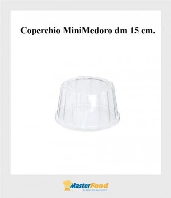 Coperchio mini medoro dm.15 cm.  (pz.50) Alcas