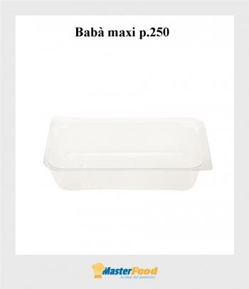 Pirottini Babà Maxi Kristal pz.250 (cm.13x7,5) Martypack