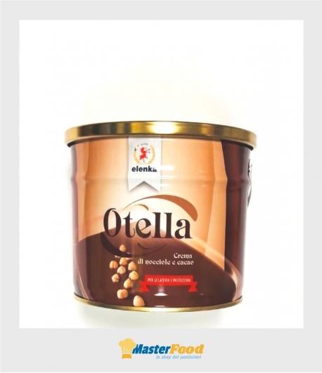 Otella crema di nocciole e cacao kg.3 (glutenfree) Elenka