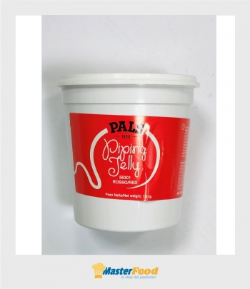 Piping jelly Rosso kg.1,300 Pals