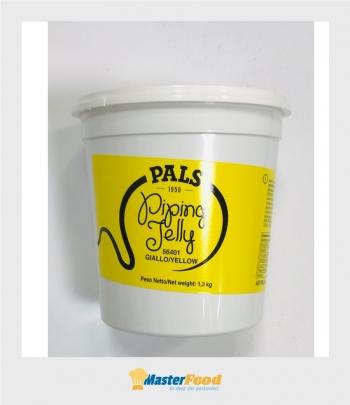 Piping jelly giallo kg.1,3 (Gel per decorazioni) Pals