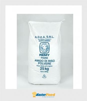 Amido di riso in polvere Remy fiore kg.25