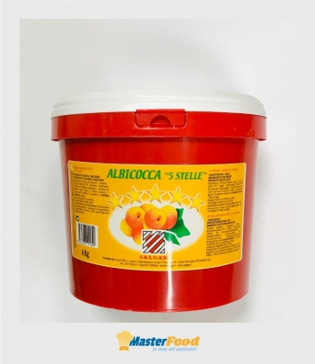 "Passata Albicocca ""5 stelle"" kg.6 Salgar"