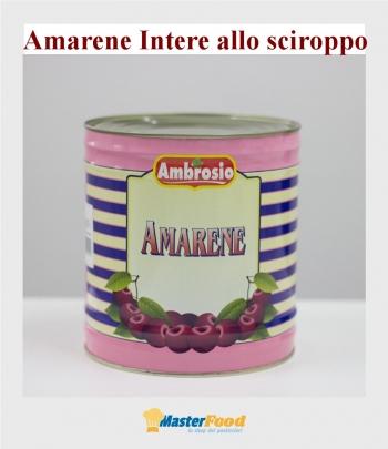 Amarene intere 30% sciroppo kg.5 Ambrosio