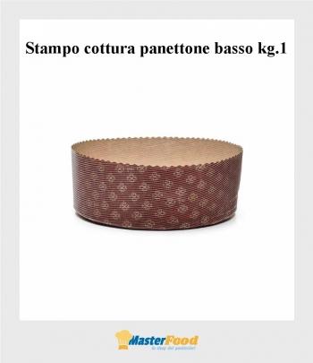 Stampo da cottura Panettone Basso kg.1 (M220/70) pz.80