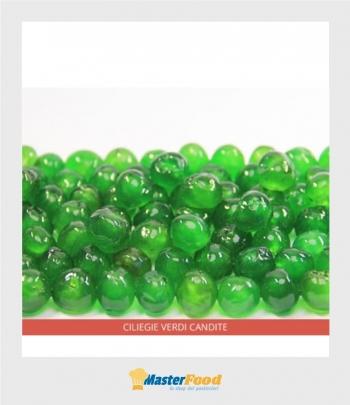 Ciliegie verdi candite cal.16/18 kg.5 Ambrosio