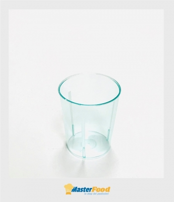 Bicchiere tondo piccolo cc.60 Verde acqua pz.50