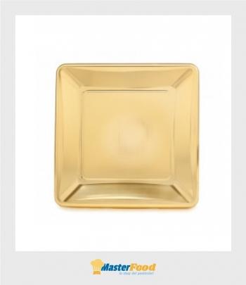 Monoporzione Quadrata cm.6,5 oro pz.100 Gp-plast