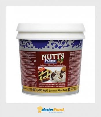 Nutty nocciola-cacao kg.4,200 (Glutenfree) Fabbri