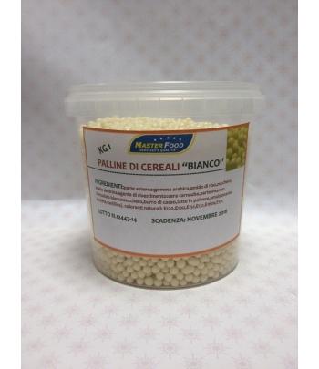 Cerealini ricoperti di cioccolato bianco kg.1