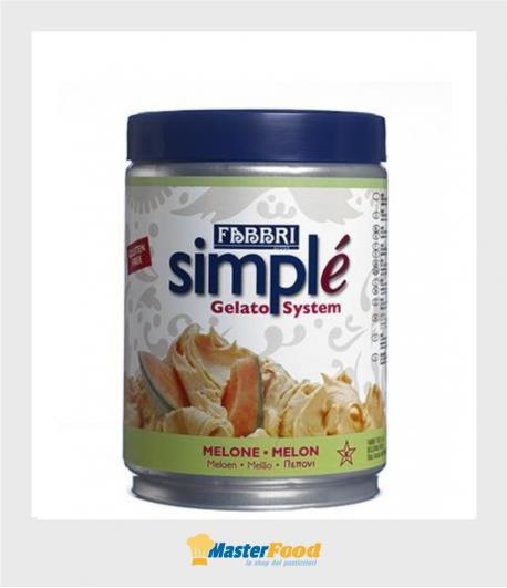 Simplè melone kg.1,500 (glutenfree) Fabbri