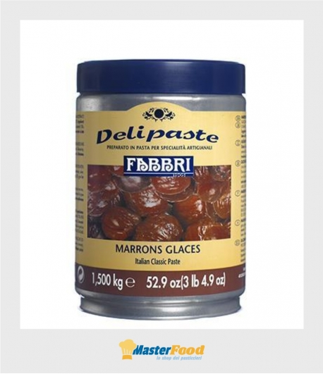 pasta marrons glaces delipaste kg.1.500 (Glutenfree) fabbri