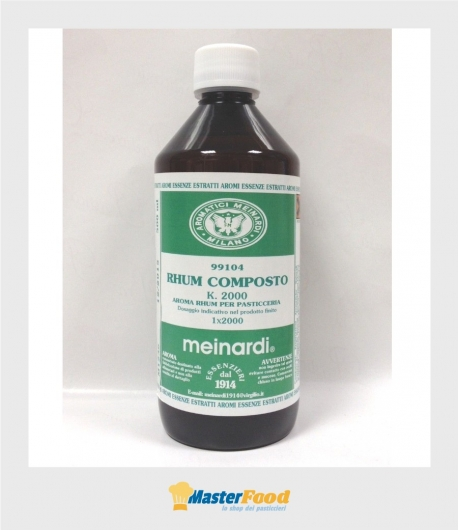 Aroma rhum composto ml.500 Meinardi