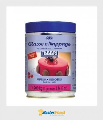 Glassa a specchio AMARENA nappage kg.1,500 (glutenfree) Fabbri