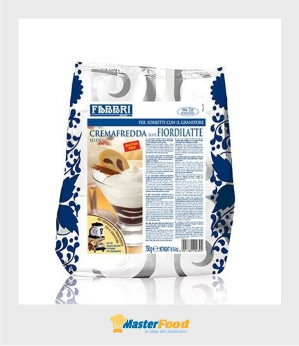 Cremafredda gusto Fiordilatte gr.750 (glutenfree) Fabbri