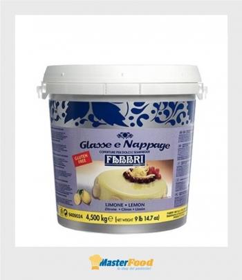 Glassa a specchio LIMONE nappage kg.4,500 (Glutenfree) Fabbri