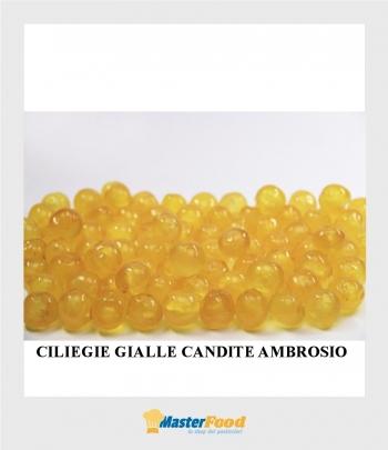 Ciliegie Gialle candite cal.16/18 gr.900 Ambrosio