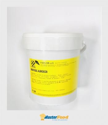Gelatina a caldo Montegel Albicocca kg.5 Salgar