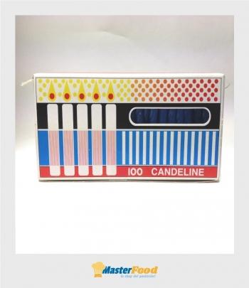 Candeline Celesti pz.100 (senza gambo)