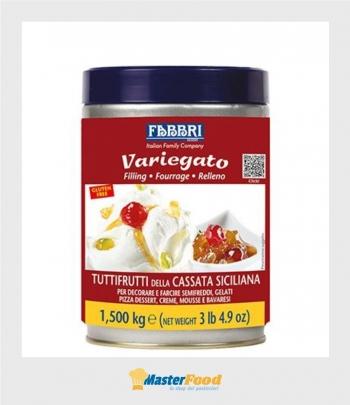 Variegato tuttifrutti della cassata siciliana kg.1,500 (glutenfree) Fabbri