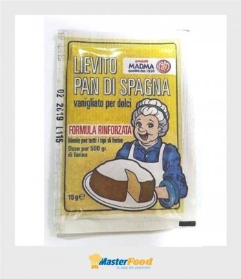 Lievito pan di spagna gr.15 Madma