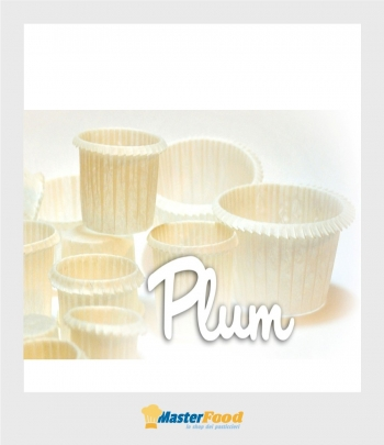 Pirottino PLUMCAKE muffin n.7 bianco (busta pz.100)