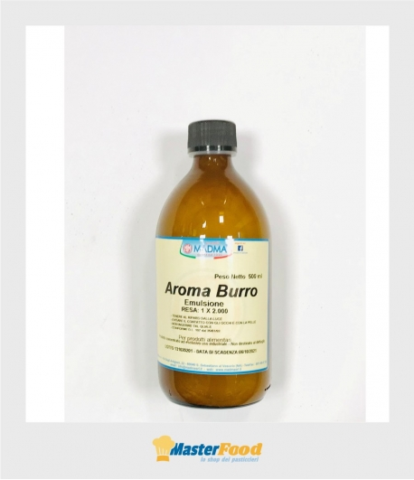 Aroma burro emulsione gr.500 Madma