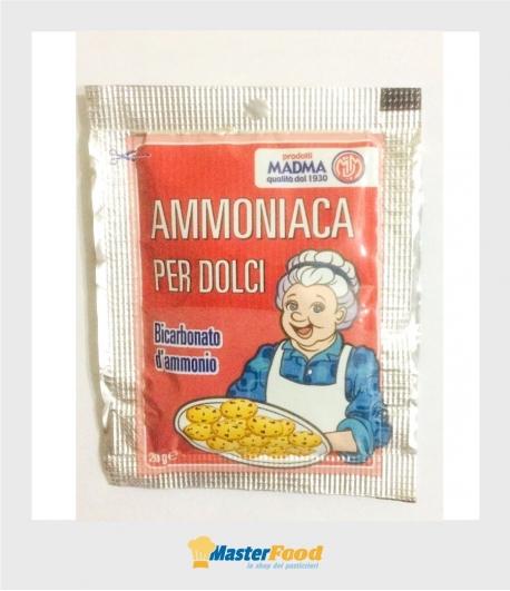 Ammoniaca per dolci bustina gr.20 Madma