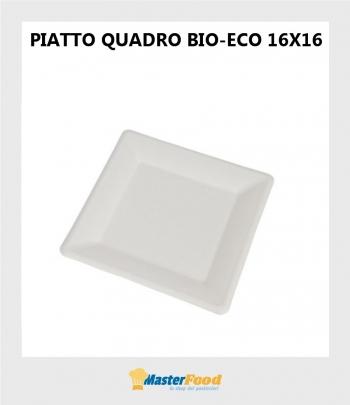Piatto quadro bio-eco 16x16...