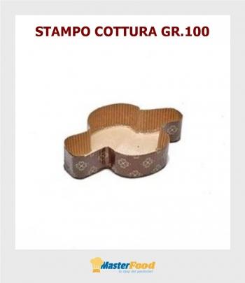Stampo da cottura Colomba gr.100 in carta micronda