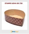 Stampo da cottura Uovo gr.750 Marrone in carta micronda
