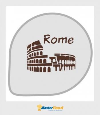 Stencil per torte Roma (mask303) Martellato
