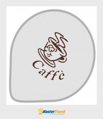 Stencil per torte Tazzina caffè (mask 176) Martellato