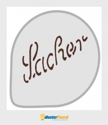 Stencil per torte Sacher (mask 50) Martellato