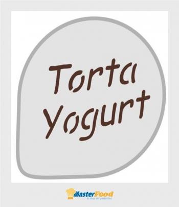"""Stencil per torta """"torta yogurt"""" Martellato"""