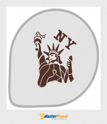 Stencil per torte New york (mask307) Martellato
