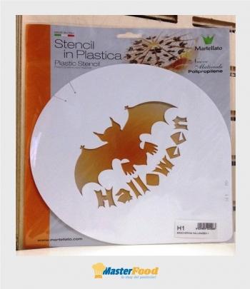 Stencil per torte Halloween (mask1) Martellato