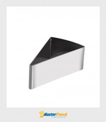 Forma inox Fetta torta 117x61 mm H 5 cm. Martellato