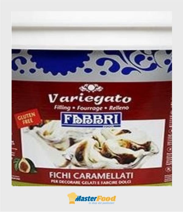 Variegato Fichi caramellati kg.1,500 (glutenfree) Fabbri
